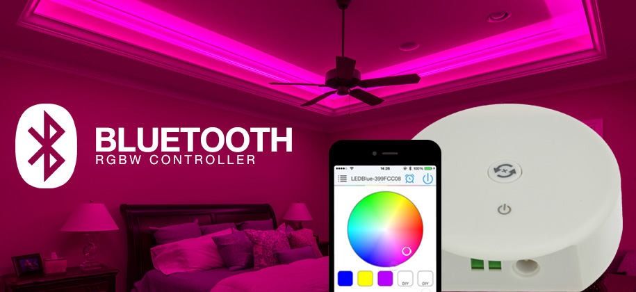 Bluetooth RGBW Controller