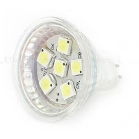 1.5 Watt MR11 Flood Light Bulb 12 Volt AC/DC