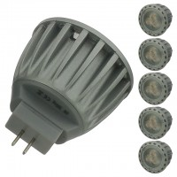 4-Watt LED MR11 Spot or Flood Light Bulb 12-Volt AC/DC (6-Pack)