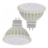 MR16 UL Listed 5-Watt (35W Equivalent) LED Spot Light with Interchangeable Wide Angle Flood Lens 12V AC/DC (2-Pack)