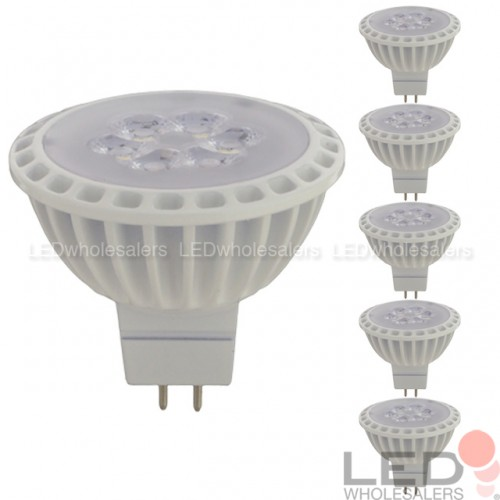 Mr16 Wide Flood: MR16 6W (40W-equivalent) LED Spot Light Bulb With