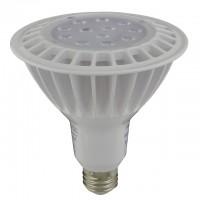 UL Dimmable LED PAR38 Spot/Flood Light Bulb with Interchangeable Lens 16-Watt, White Body