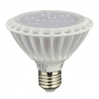 UL-Listed PAR30 LED Spot Light Bulb with Interchangeable Flood Lens 11-Watt Short Neck