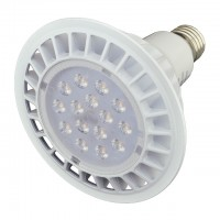 UL PAR38 LED Spot Light Bulb with Interchangeable Wide Angle Flood Lens for Track or Recessed Lighting, 26W