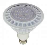 UL Dimmable PAR38 LED Spot Light Bulb with Interchangeable Wide Angle Flood Lens for Track or Recessed Lighting, 20W