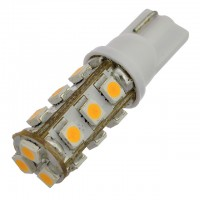 T10 194 Wedge Base 1.5W LED Bulb with 15xSMD3528 12VDC