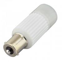 BA15s Base Omnidirectional 3-Watt LED Light Bulb 12-Volt AC/DC or 10-30V DC
