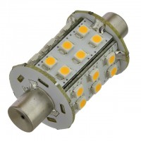 43mm Festoon Barrel-End Aquasignal 360º LED Bulb with 30xSMD3528 10-30VDC