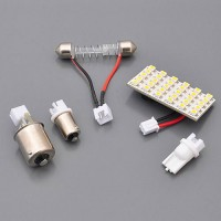 30-LED Light Panel Module Festoon Wedge Bayonet Bases