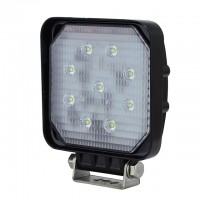 20-Watt Heavy Duty High Power Off Road Square LED Work Light