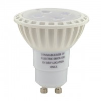 UL Dimmable 5W LED GU10 Spot/Flood Light Bulb with Interchangeable Lens (2-Pack)
