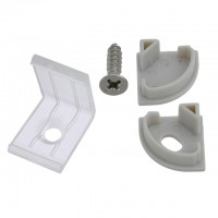 60-Piece Accessory Pack for V-Shaped Aluminum Channel System
