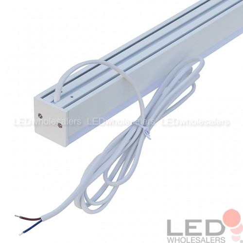 4-ft Linear Aluminum LED Utility Shop Light 24W Suspended