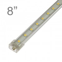 RS01 Linkable Aluminum Under Counter LED Light, 8-in 9-LED 3-Watt