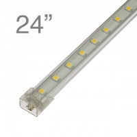 RS01 Linkable Aluminum Under Counter LED Light, 24-in 27-LED 8-Watt (Final Sale)