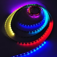 5V 16.4-ft SK6822 Individually Addressable Dream Color Chasing Wave Pattern RGB Magic Pixel LED Strip with 300xSMD5050