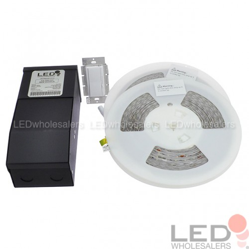 24v Ul Flexible Led Strip Kit With Dimmable Magnetic
