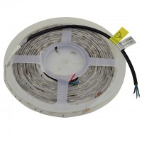 24-Volt UL 16.4-ft Water-Resistant Color-Changing Flexible LED Ribbon Strip with 150xSMD5050
