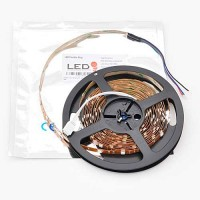 12V 16.4ft RGB Color-Changing Flexible LED Ribbon Strip Light with Copper PCB
