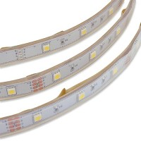 12-Volt 16.4-ft Flexible LED Ribbon Strip Light with 150xSMD5050 in Waterproof Sleeve