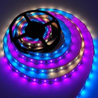 16.4-Feet RGB Color-Changing Magic LED Waterproof Strip Kit with Chasing Wave Patterns