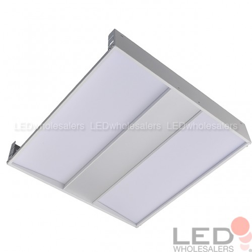 2x2ft 40watt 4650lumen glarefree led troffer ceiling light