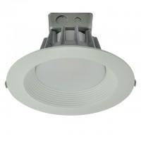 "8"" Dimmable Retrofit 35W LED Downlight White Trim with Junction Box, ETL & ENERGY STAR"