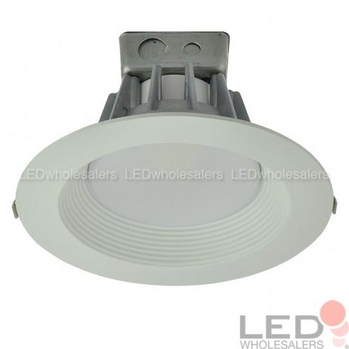 8  Dimmable Retrofit 35W LED Downlight White Trim with Junction Box ETL u0026 ENERGY STAR  sc 1 st  LEDwholesalers.com & 8