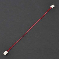 Single Color 2-Conductor LED Strip-to-Strip Quick Connector Jumper with 11-in Wire