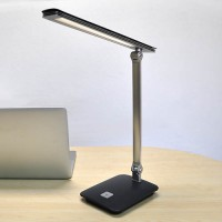3-Level Dimmable Touch Switch Folding LED Desk Lamp 6-Watt