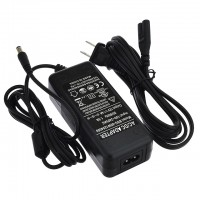 12V 4A 48W AC/DC Power Adapter with 5.5x2.1mm DC Plug, Black, UL-Listed