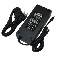 12V 12A 144W AC/DC Power Adapter with 5.5x2.1mm DC Plug, Black