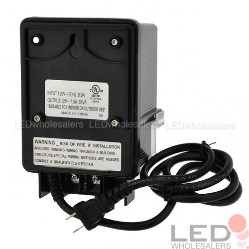 12v Ac 88w Landscape Lighting Transformer With Photo
