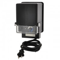 12V AC 150-Watt Landscape Lighting Transformer with Photo Sensor and Rotary Control Timer Switch, UL-Listed
