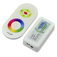 RF Compact Size Color-Changing Remote Controller for RGB LED Strips