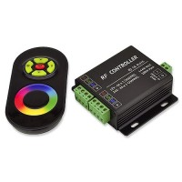 Music Controller with Audio Input Port and RF Remote for RGB LED Strips