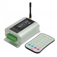 WiFi 12-Zone Controller for RGB, RGBW, CT, and Single Color LED Strips, iOS and Android Device Compatible