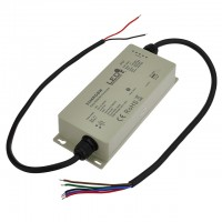 CC01 RF 4-Channel Waterproof Receiver for Single Color, Dual Color, RGB, or RGBW LED Strips