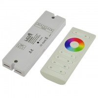 Easy-to-Use RF Controller with Remote for Single Color, RGB, and RGBW LED Strips