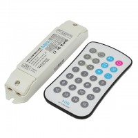 RF Controller with Wireless Remote for Addressable Dream Color Chasing Wave Pattern RGB Magic Pixel LED Strips