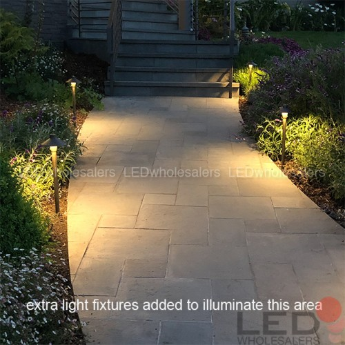 Low Voltage Solid Br Pathway Light