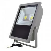 Series-3 LED Outdoor Security Floodlight Fixture 100-Watt, White
