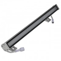 "20"" Linkable Water-Resistant Slim Aluminum LED RGB Color-Changing Wall-Washer Bar 24V"