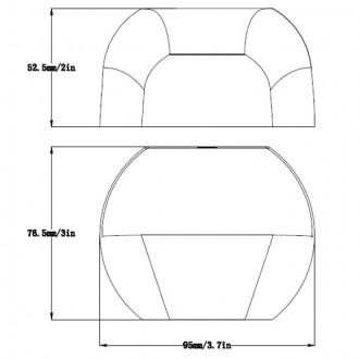 Low Voltage Outdoor Landscape Cast Aluminum LED Deck Light 12V AC/DC 2W (6-Pack)