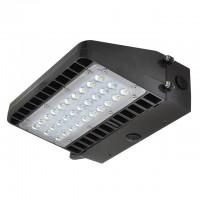 48-Watt LED Wall Pack Outdoor Light Fixture, ETL-Listed, Daylight 5000K