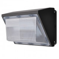 45-Watt Outdoor LED Wall Pack Security Light Fixture, UL-Listed & DLC-Qualified, Daylight 5000K