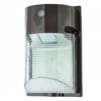 12-Watt LED Wall-Mount Outdoor Light Fixture with Photo Sensor