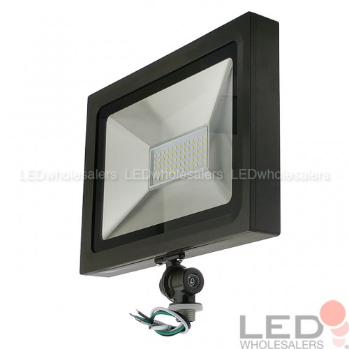 Ultra Slim 50w Led Flood Light 1 2 Threaded Mount