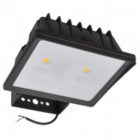 Series-4 Heavy Duty 90W LED Outdoor Security Flood Light Fixture with Trunnion Mount, UL-Listed, Daylight 5000K