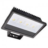 Series-4 Heavy Duty 200W LED Outdoor Security Flood Light Fixture with Trunnion Mount, UL-Listed, Daylight 5000K